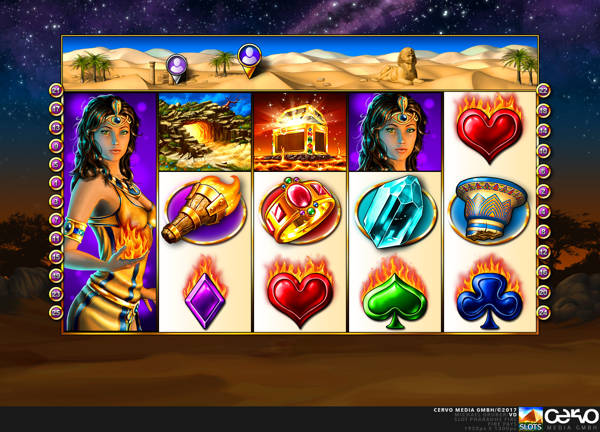 Slots – Pharaoh's Fire